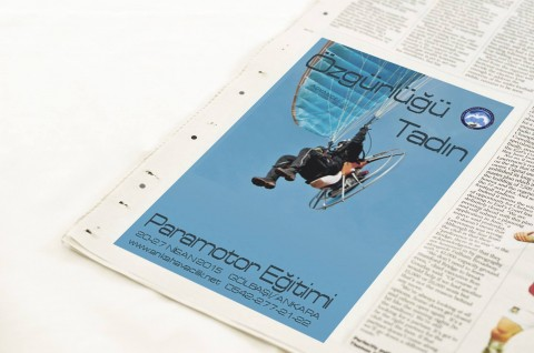 motorlu yamaç paraşütü eğitimi